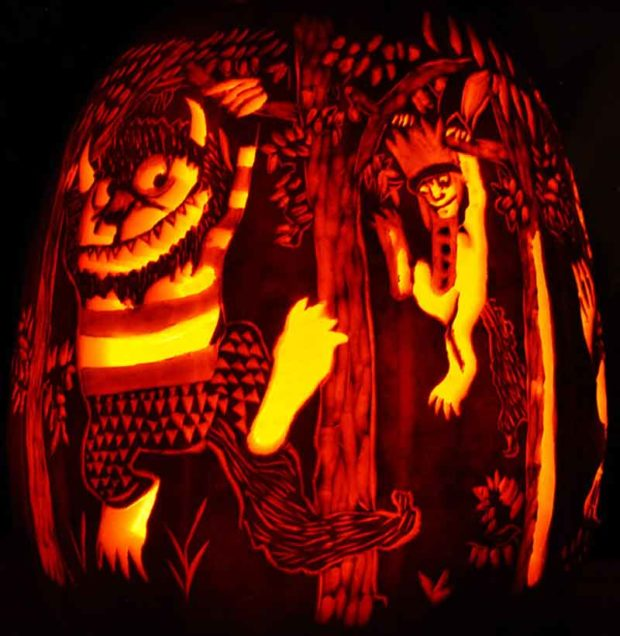 Where The Wild Things Are - Halloween Pumpkin Carving