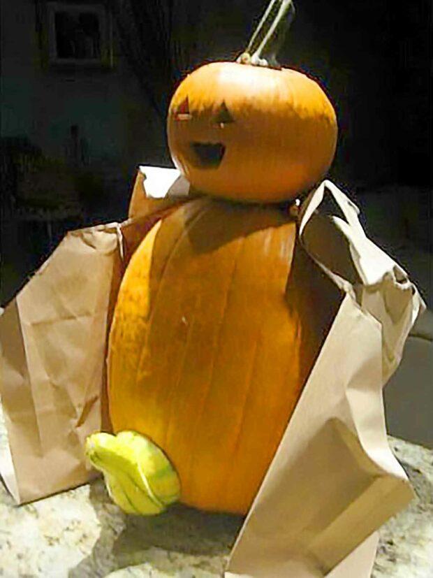 Pumpkin Flasher - Funny Halloween Decoration