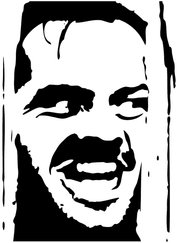 The Shining Pumpkin Carving Template