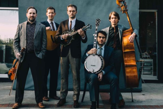 Mandolin Player Chris Thile And The Punch Brothers