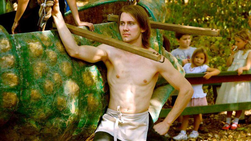 Man at Renaissance Faire