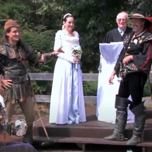 Have You Seen This Renaissance Festival Wedding With Robin Hood Battle Scene?