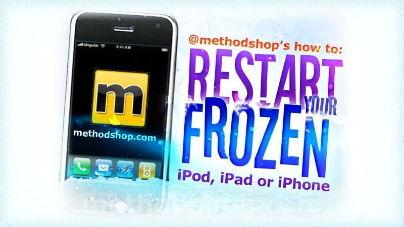 How to Restart a Frozen iPod, iPad or iPhone