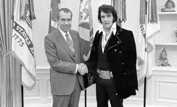 Richard Nixon &Amp; Elvis