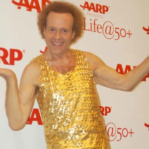 Richard Simmons Puts His Hands Down His Pants on Live TV