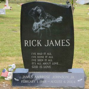 RIP Rick James - Flamboyant Singer Dead At 56 From Natural Causes (2004)