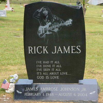 Rick James Grave