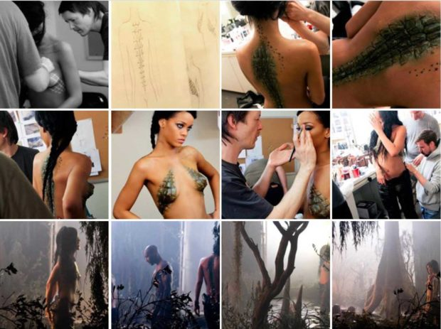 Almost Naked Rihanna Photos From Where Have You Been Music Video - Rihanna Boobs