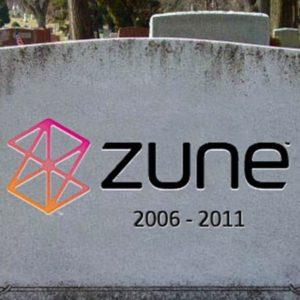 R.I.P Microsoft Zune (2006-2011)