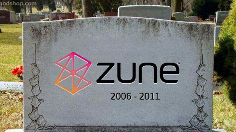 RIP Zune