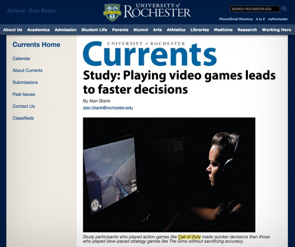 Rochester-Gamer-Study