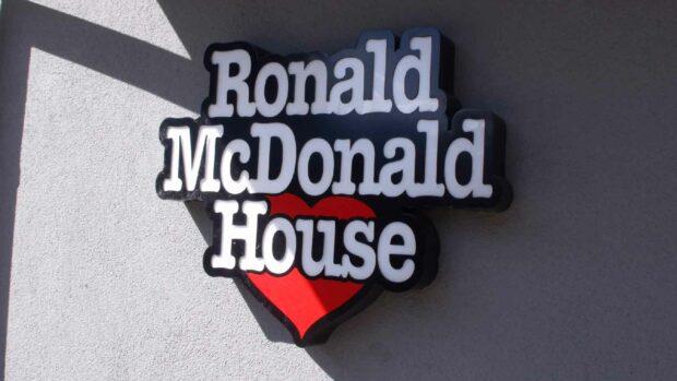 Ronald Mcdonald House Sign