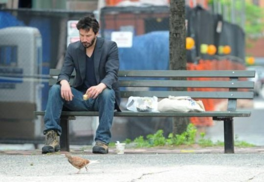 Keanu Sad Sandwich