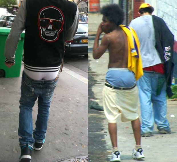 Sagging Pants: Stupid 90's Fads