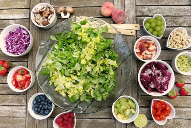 Healthy Eating Tips And Habits For A Healthier Lifestyle: Salad
