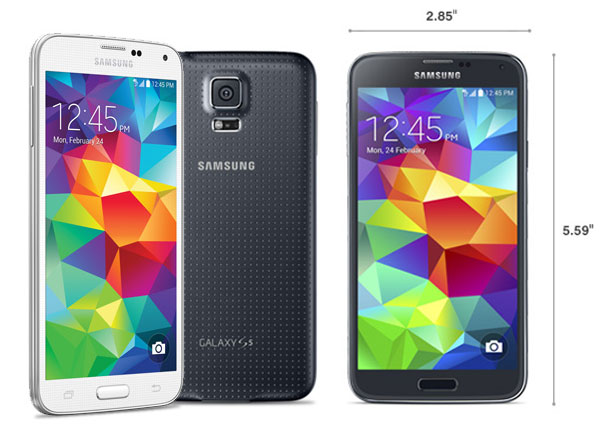 Samsung-Galaxy-S5-Sizes