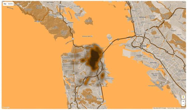 San Francisco Poop Map App