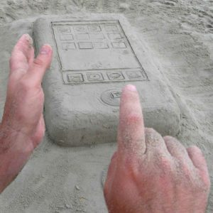 This Incredible iPhone Sandcastle Will Amaze You