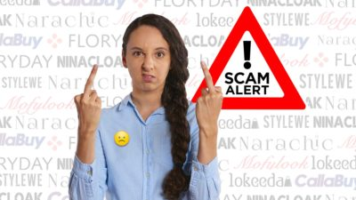 Scam Alert: Lokeeda, Mofylook, Narachic, Floryday, Ninacloak, Callabuy, And StyleWe!
