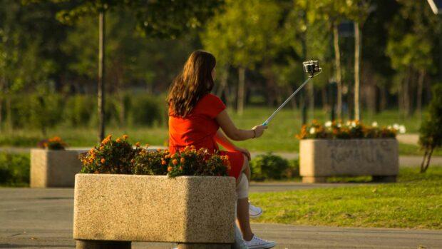 Selfie At The Park