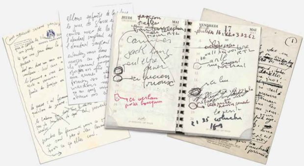 Songwriter Fonts: Serge Gainsbourg Handwriting