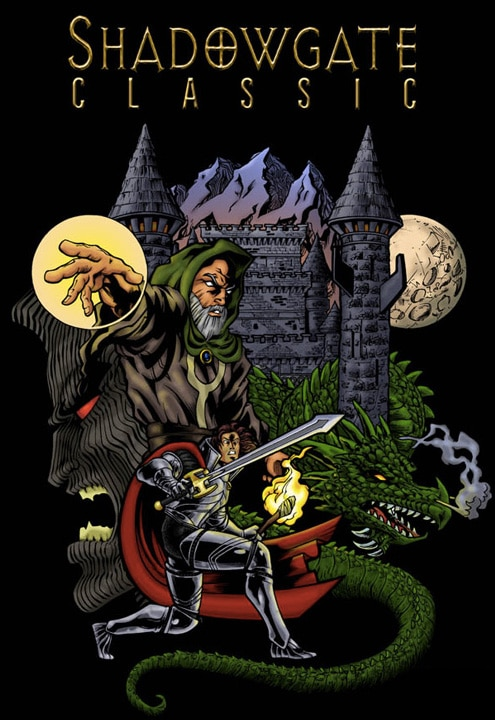 Shadowgate Classic Cover