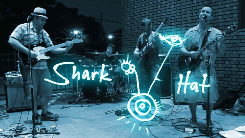 Shark Hat Band