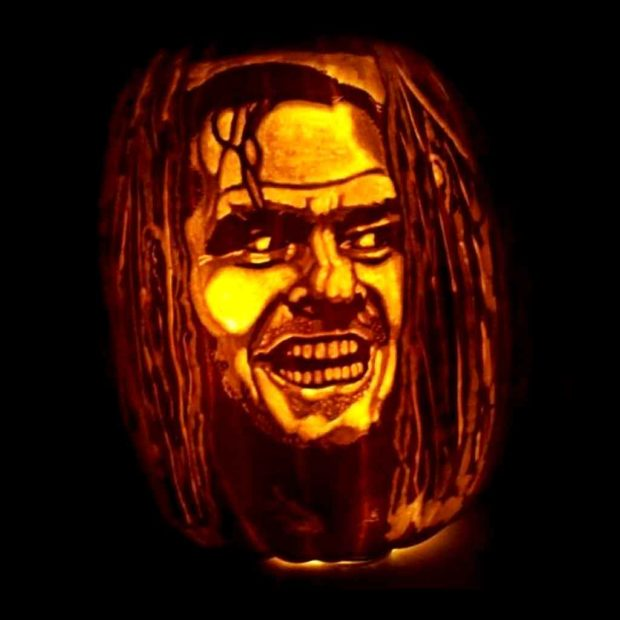 The Shining Pumpkin Carving