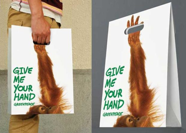 Greenpeace: Give Me Your Hand