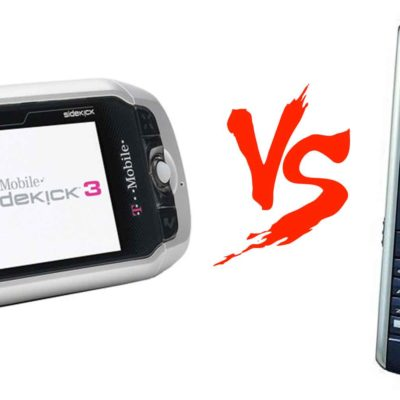 Blackberry Pearl vs SideKick 3: Smartphone Showdown
