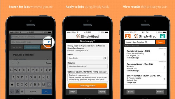 SimplyHired App