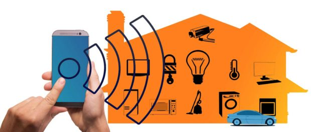 Smartphone Controlling A Smart Home with IoT Devices