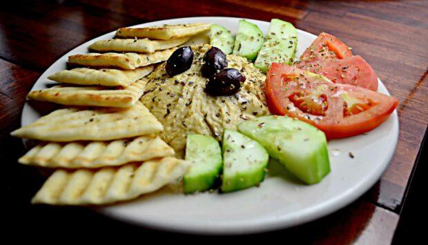 Mediterranean Snack Platter
