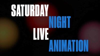 Saturday Night Live Animation