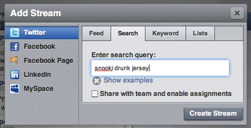 Hootsuite Search: Snooki Drunk Jersey