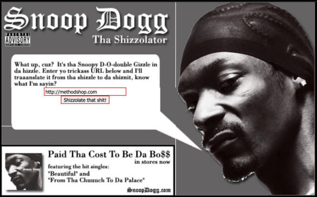 The Shizzolater
