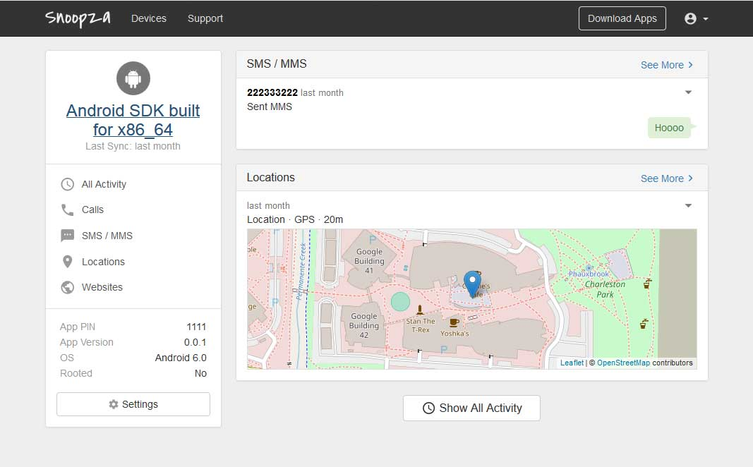 Snoopza Map: Track The Location Of A Cell Phone Using This Android App