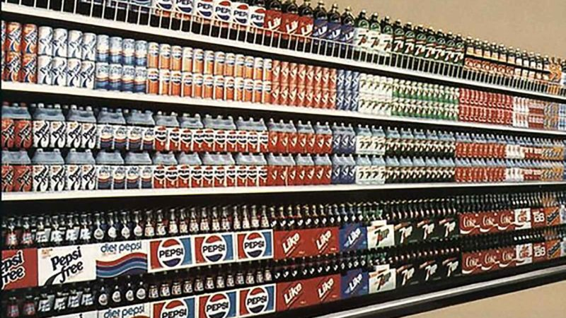 Retro Soda Display An A 1984 Grocery Store