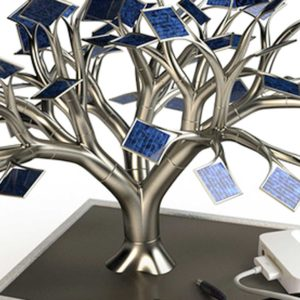 Charge Your Gadgets with a Solar Powered Bonsai Tree