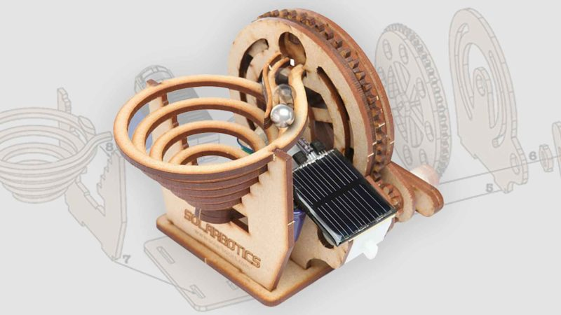 The Solarbotics Perpetual Motion Marble Kit