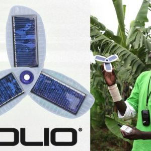 Use the Sun to Charge Your Gadgets with the Solio Solar Charger