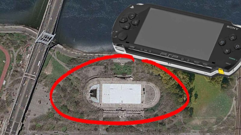 Google Maps User Finds A Giant Sony PSP in North Dakota