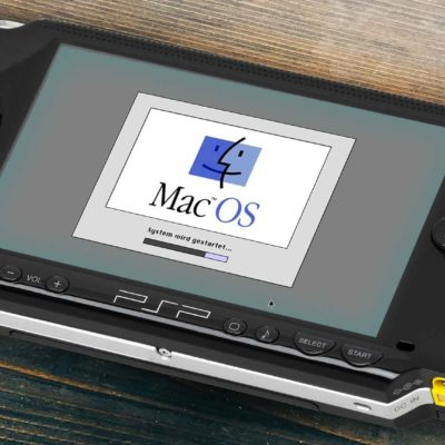 Mac OS System 7 On A Sony PSP