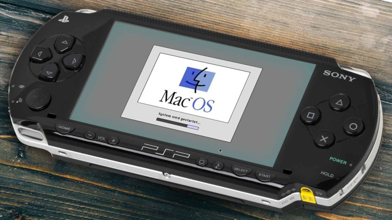 Mac OS System 7 On A Sony PSP