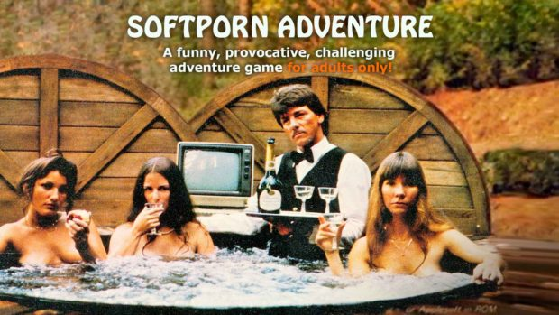 Softporn Adventure - The world's first erotic computer game.