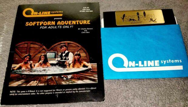 Softporn Adventure Game Packaging