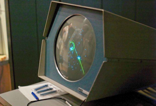 Spacewar! on a PDP-1 computer