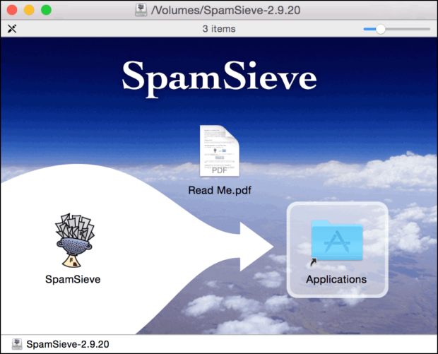 SpamSieve Install
