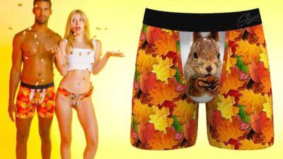 Squirrel Boxer Briefs - Funny Underwear For Men That Will Make Your Partner Smile
