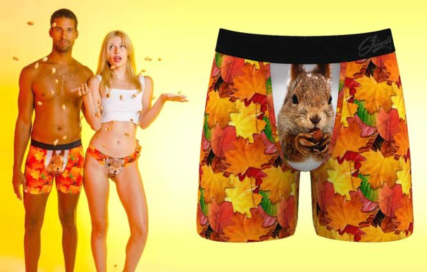 Squirrel Boxer Briefs - Funny Underwear For Men That Will Make Your Partner Smile